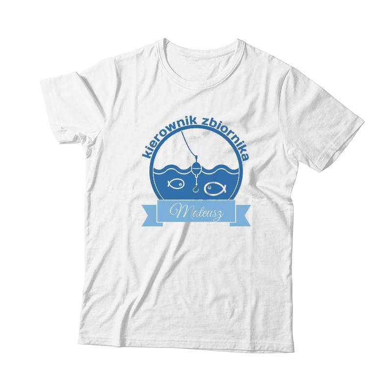 Śmieszna koszulka dla wędkarza