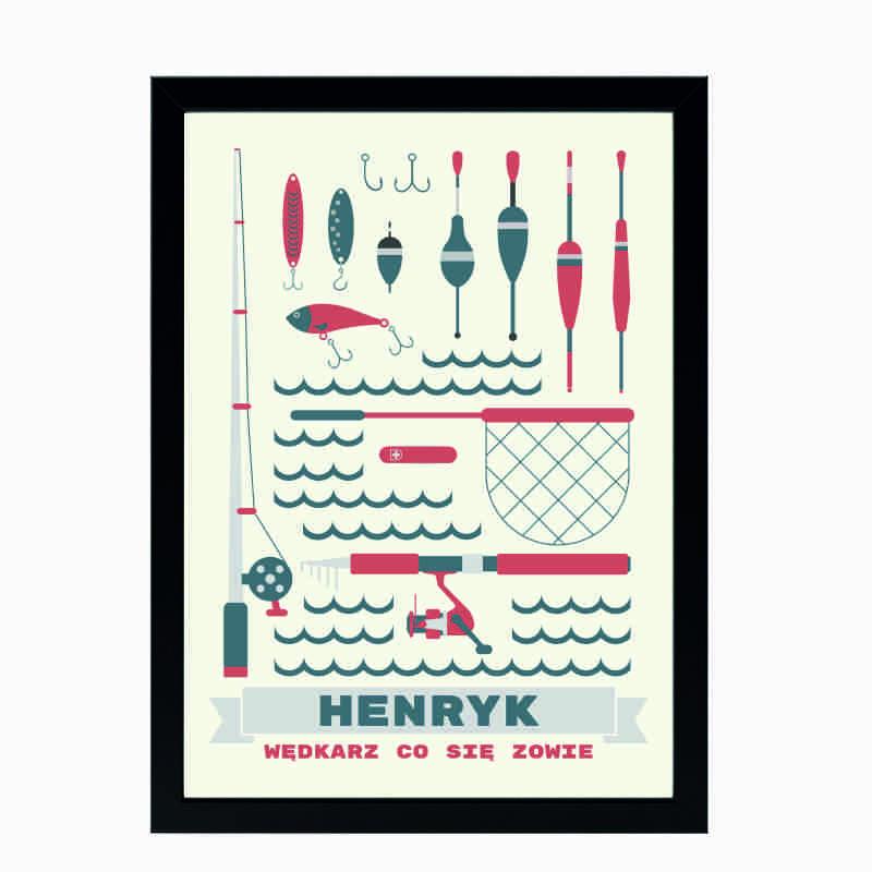 Plakat dla wędkarza