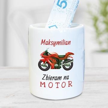 Skarbonka motocyklisty