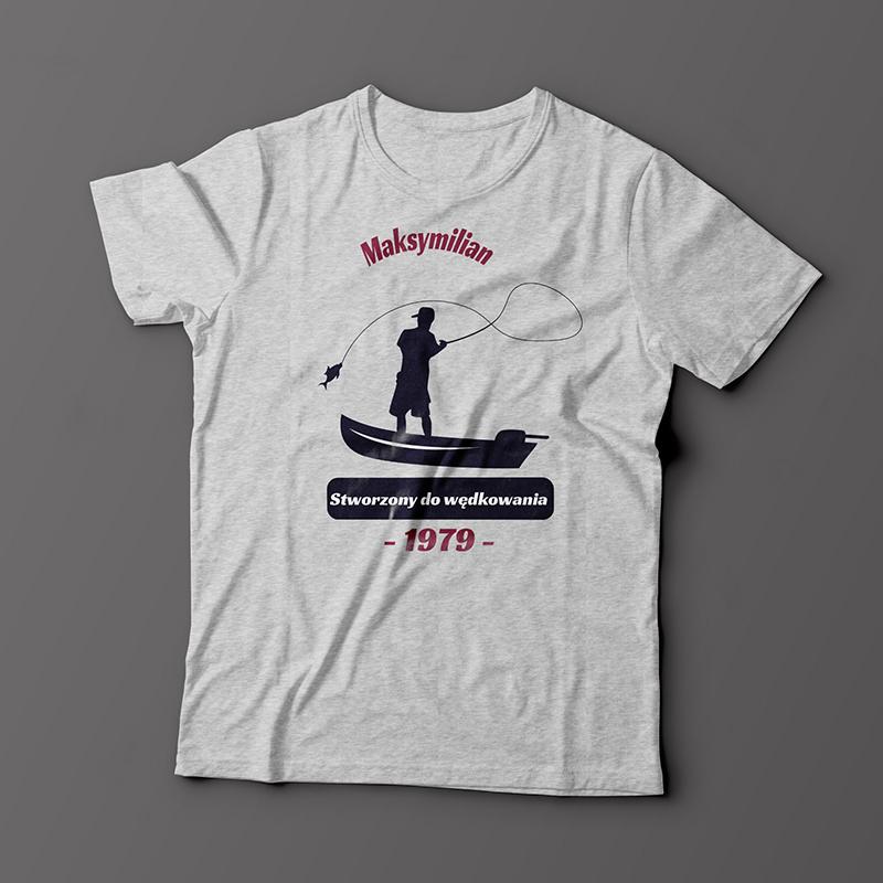Koszulka wędkarza