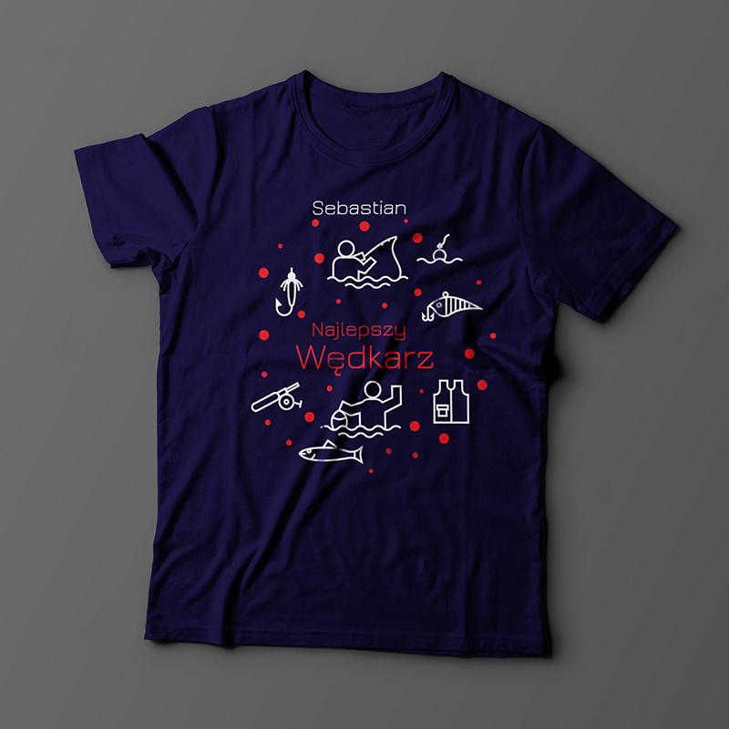 T-shirt dla wędkarza