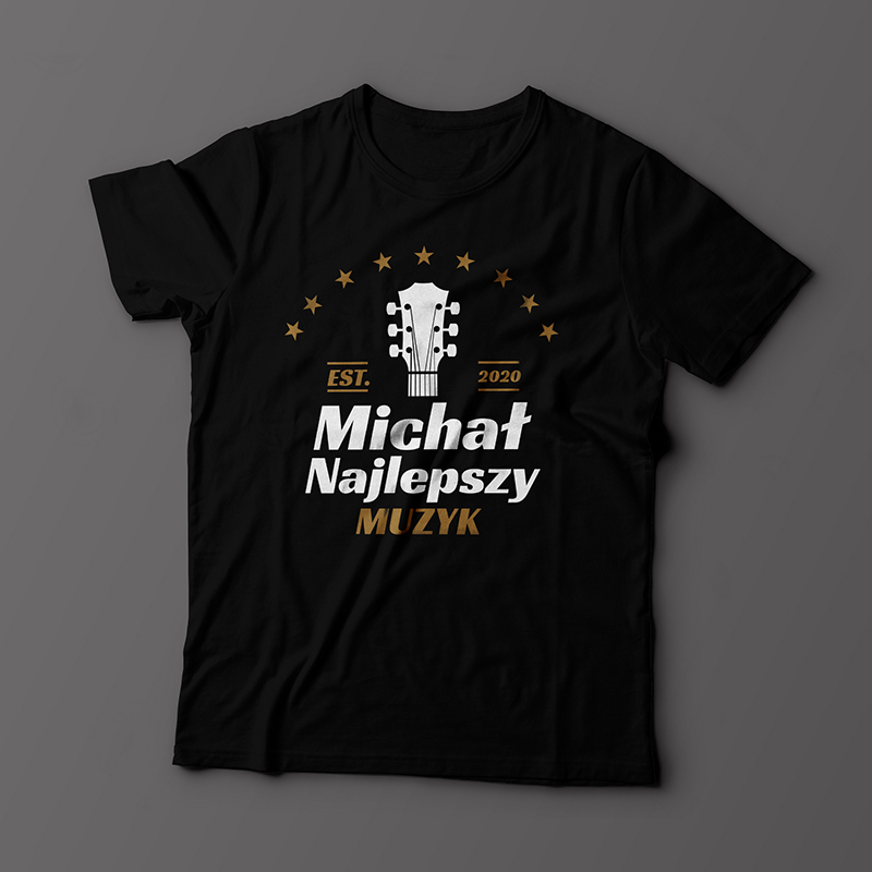 Koszulka dla muzyka