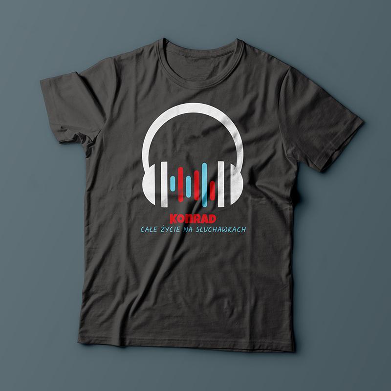 Koszulka ze słuchawkami