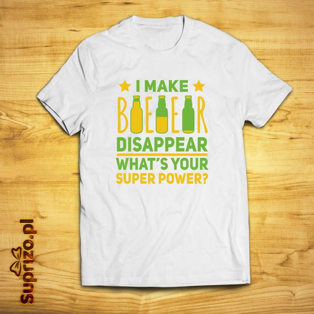 Koszulka z nadrukiem dla piwosza