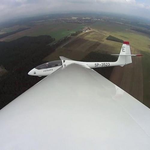 Lot szybowcem Włocławek