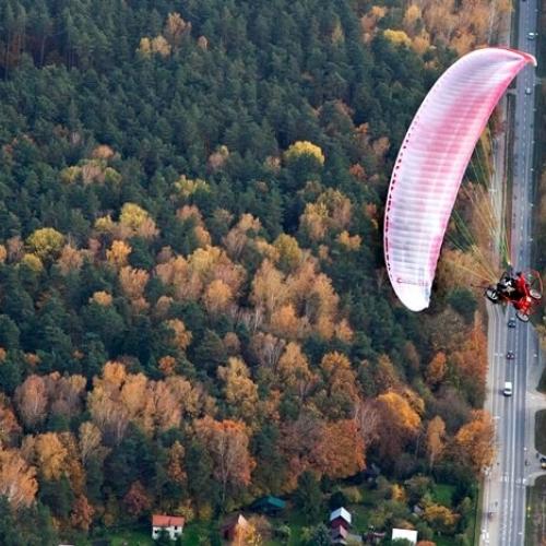 Lot motoparalotnią Poznań