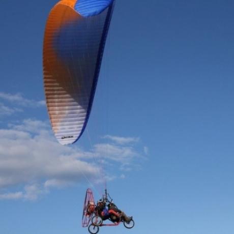 Lot motoparalotnią Piotrków Trybunalski