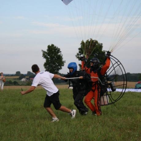 Lot motoparalotnią Kazimierz Dolny