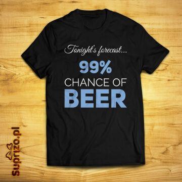 Koszulka z napisem dla wielbiciela piwa