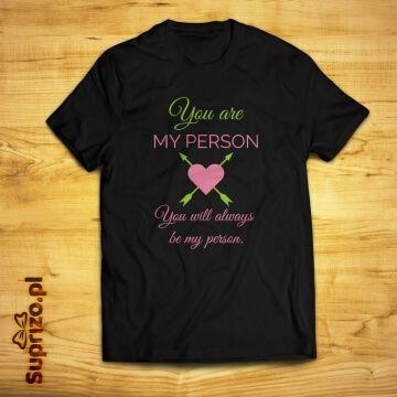 Koszulka z nadrukiem dla pary