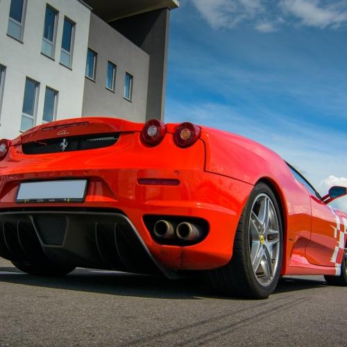 Jazda Ferrari Modlin