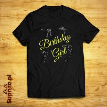 Koszulka urodzinowa dla dziewczyny
