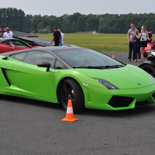 Jazda Lamborghini Łódź