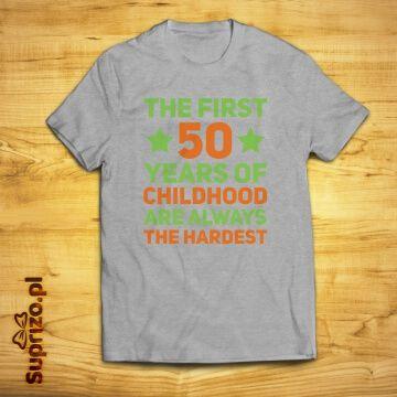 Spersonalizowana koszulka urodzinowa z zabawnym nadrukiem