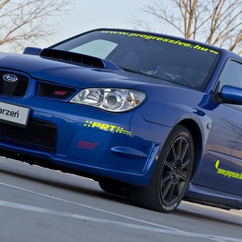 Jazda Subaru Impreza Słomczyn