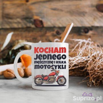 Kubek dla motocyklistki z zabawnym opisem