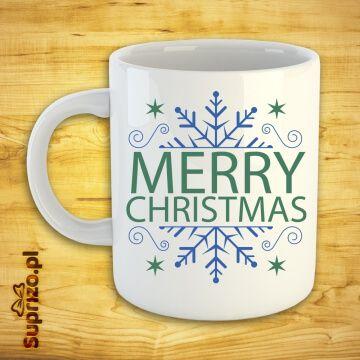Kubek świąteczny z napisem Merry Christmas (Wesołych Świąt)