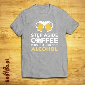 Koszulka z mottem dla piwosza