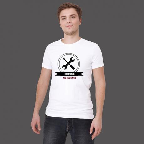 Koszulka dla mechanika samochodowego
