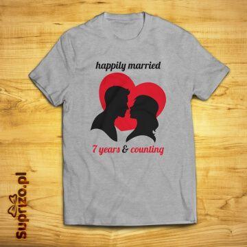 Koszulka dla szczęśliwie zakochanych personalizowana