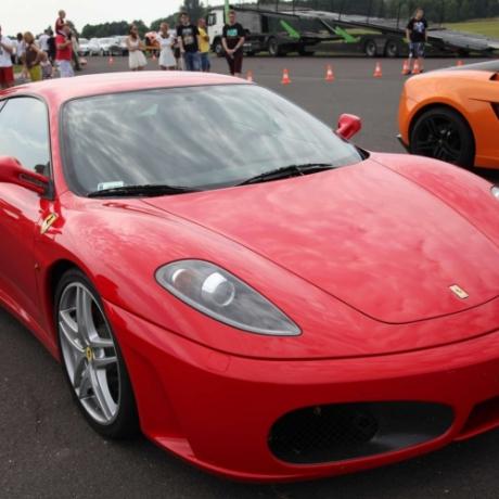 Jazda Ferrari Opole