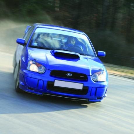Jazda Subaru Impreza Łódź