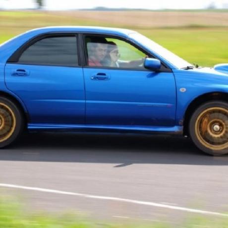 Jazda Subaru Impreza Pszczółki