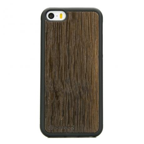Drewniane Etui iPhone 5/5s/SE DĄB WĘDZONY