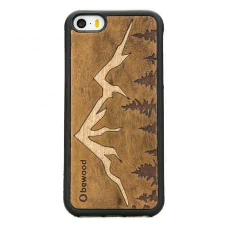 Drewniane Etui iPhone 5/5s/SE GÓRY IMBUIA