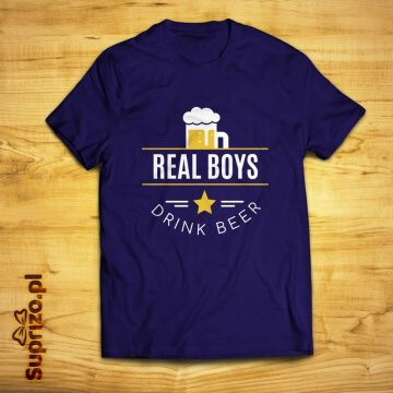 Koszulka dla fana piwa z nadrukiem