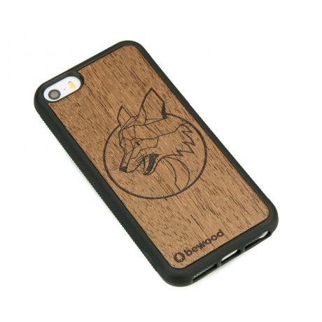 Drewniane Etui iPhone 5/5s/SE LIS MERBAU