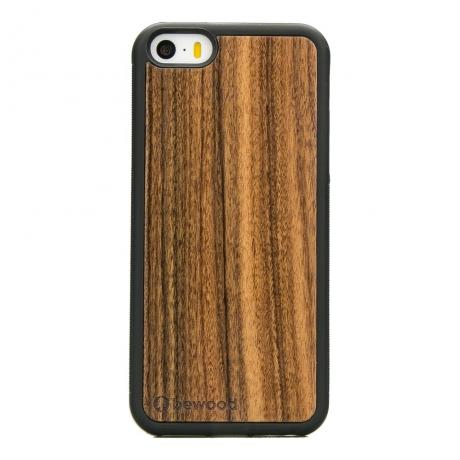Drewniane Etui iPhone 5/5s/SE PALISANDER SANTOS