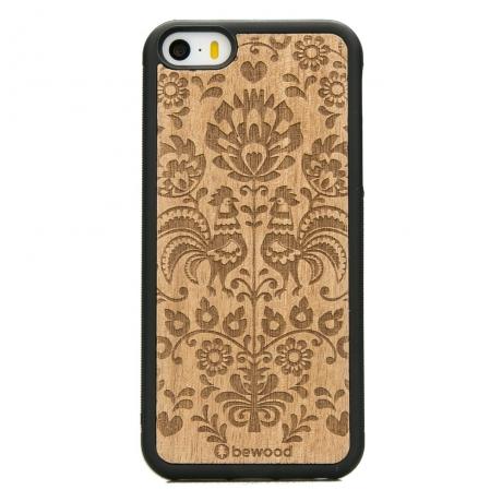 Drewniane Etui iPhone 5/5s/SE POLSKI FOLK ANIEGRE
