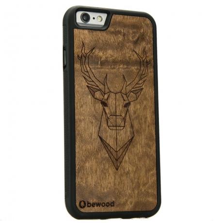 Drewniane Etui iPhone 6 Plus / 6s Plus JELEŃ IMBUIA