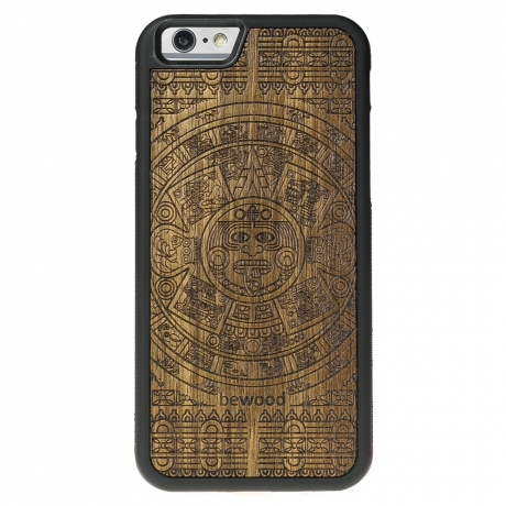 Drewniane Etui iPhone 6 Plus / 6s Plus KALENDARZ AZTECKI LIMBA
