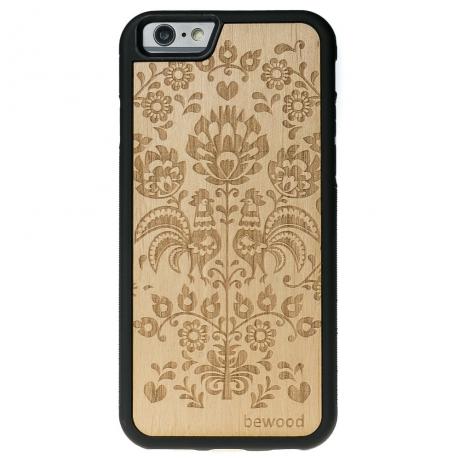 Drewniane Etui iPhone 6 Plus / 6s Plus POLSKI FOLK ANIEGRE