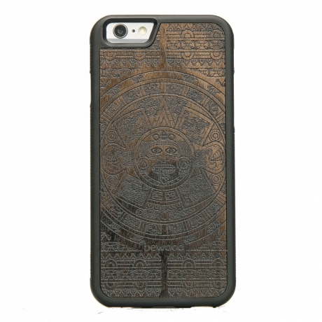 Drewniane Etui iPhone 6/6s KALENDARZ AZTECKI ZIRICOTE