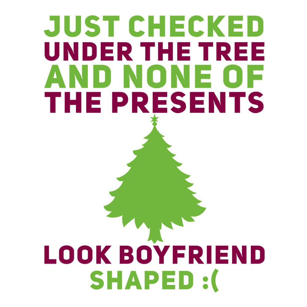 Koszulka świąteczna dla dziewczyny z zabawnym napisem