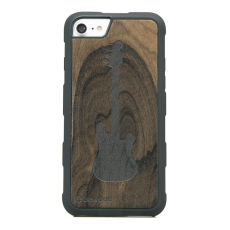 Drewniane Etui iPhone 6/6s/7/8 GITARA ZIRICOTE HEAVY