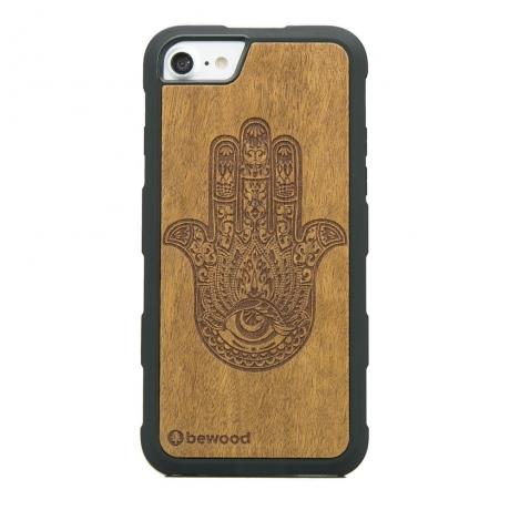 Drewniane Etui iPhone 6/6s/7/8 HAMSA IMBUIA HEAVY