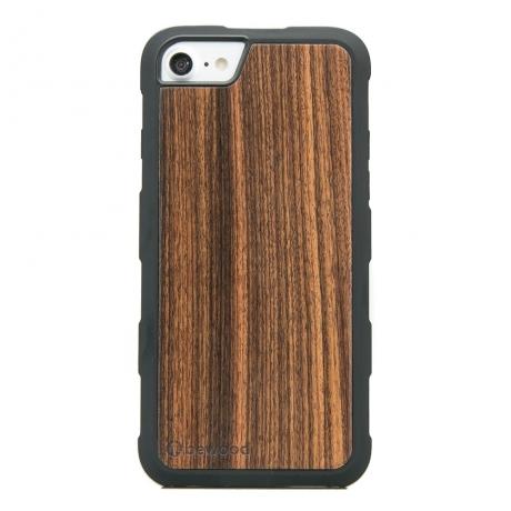Drewniane Etui iPhone 6/6s/7/8 PALISANDER SANTOS HEAVY