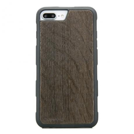 Drewniane Etui iPhone 6/6s/7/8 Plus DĄB WĘDZONY HEAVY