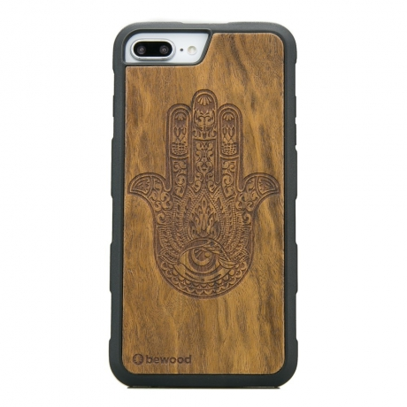 Drewniane Etui iPhone 6/6s/7/8 Plus HAMSA IMBUIA HEAVY