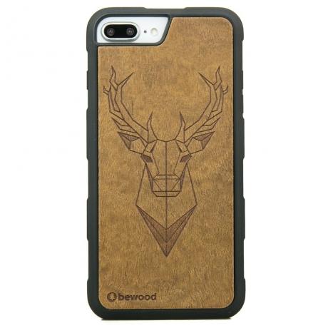 Drewniane Etui iPhone 6/6s/7/8 Plus JELEŃ IMBUIA HEAVY
