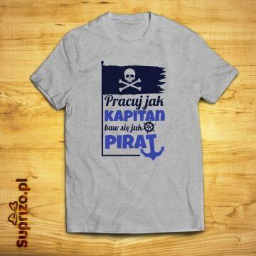 Śmieszna koszulka z motywem żeglarskim