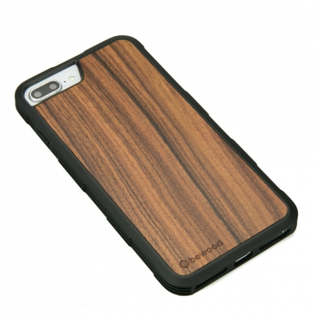 Drewniane Etui iPhone 6/6s/7/8 Plus PALISANDER SANTOS HEAVY