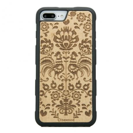Drewniane Etui iPhone 6/6s/7/8 Plus POLSKI FOLK ANIEGRE HEAVY
