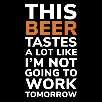 Koszulka z zabawnym mottem dla miłośnika piwa