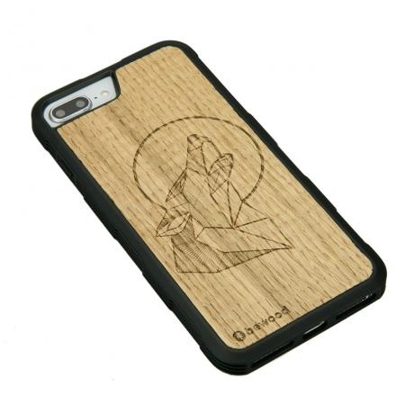 Drewniane Etui iPhone 6/6s/7/8 Plus WILK DĄB HEAVY