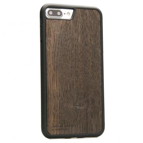 Drewniane Etui iPhone 7 Plus / 8 Plus DĄB WĘDZONY